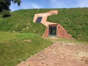 Achterkant Fort